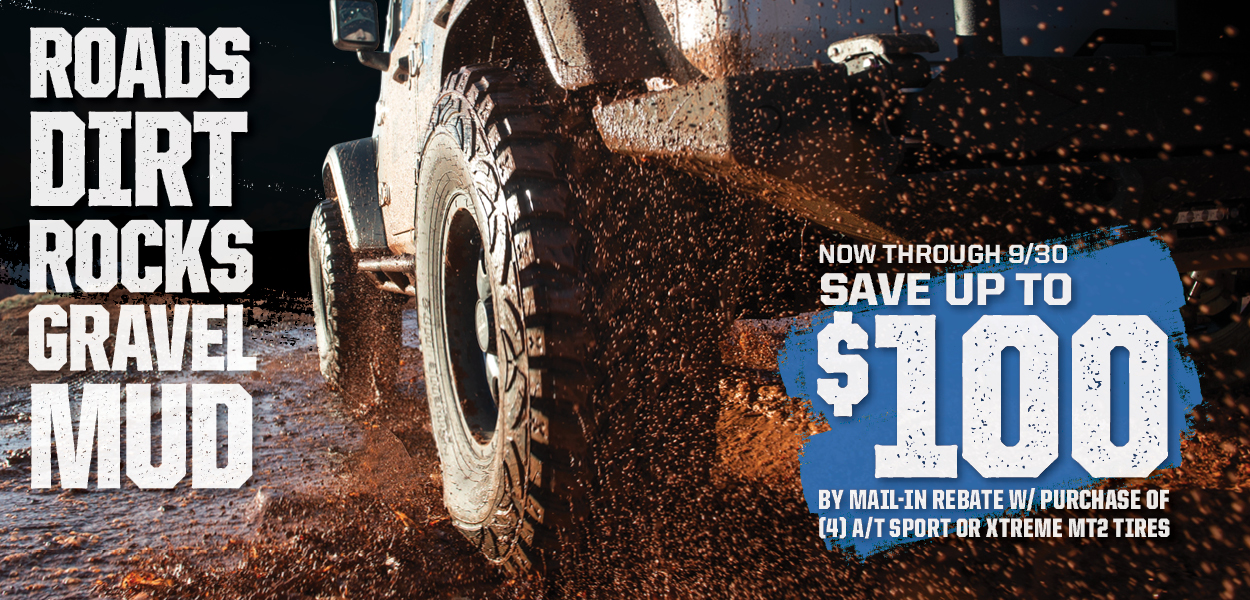 Pro Comp Tires Save $100