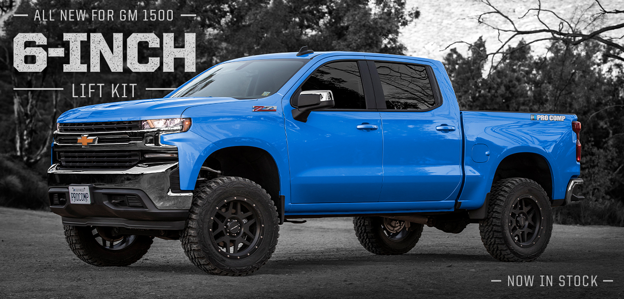 2019 Chevy 1500 Suspension Kits Available Now!