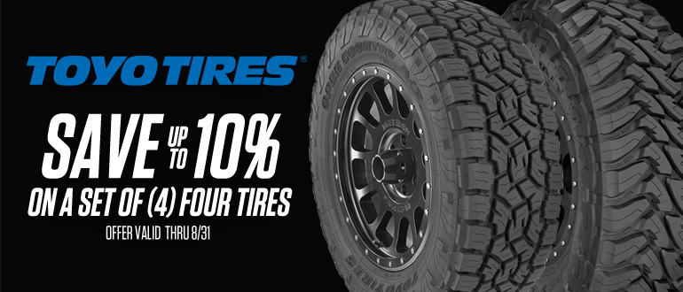TAW August Toyo Tires