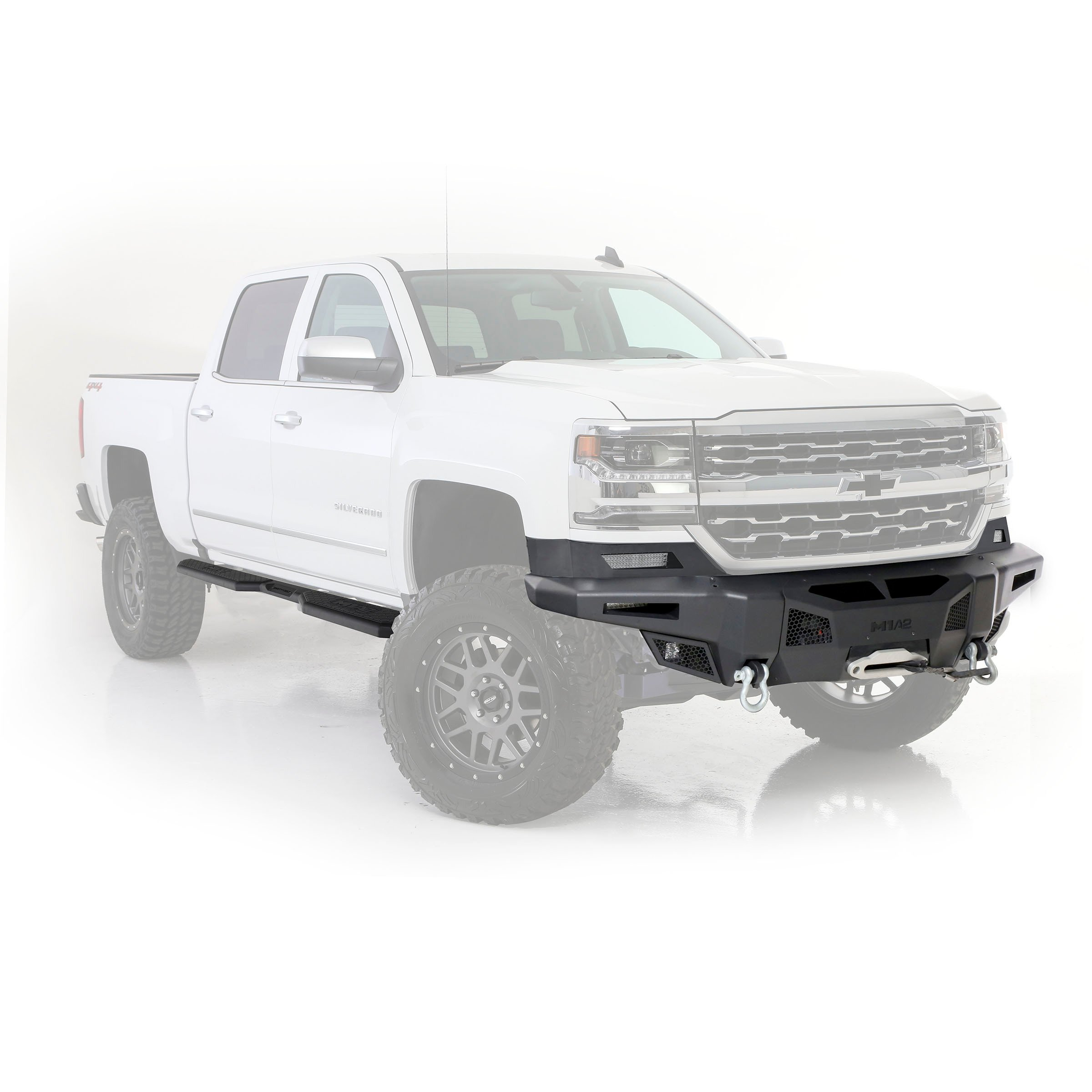 M1A2 Truck Side Step 14-18 Chevy Silverado 1500