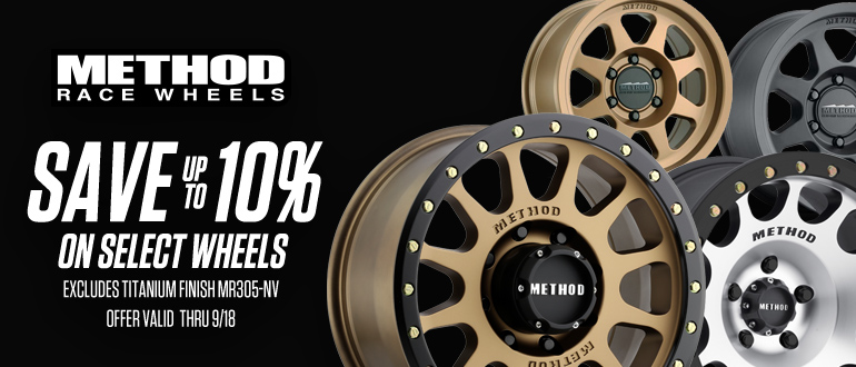 TAW September Method race Wheels