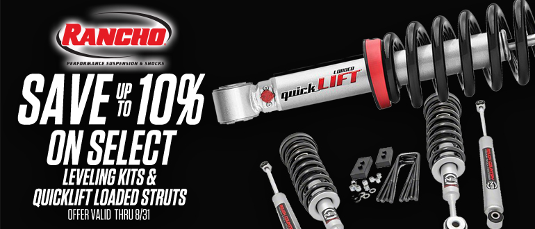 TAW August Rancho Leveling Kits