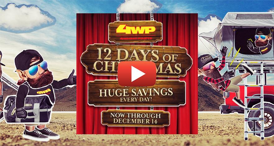 4WP 12 Days of Christmas | Unwrap Huge Savings Every Day