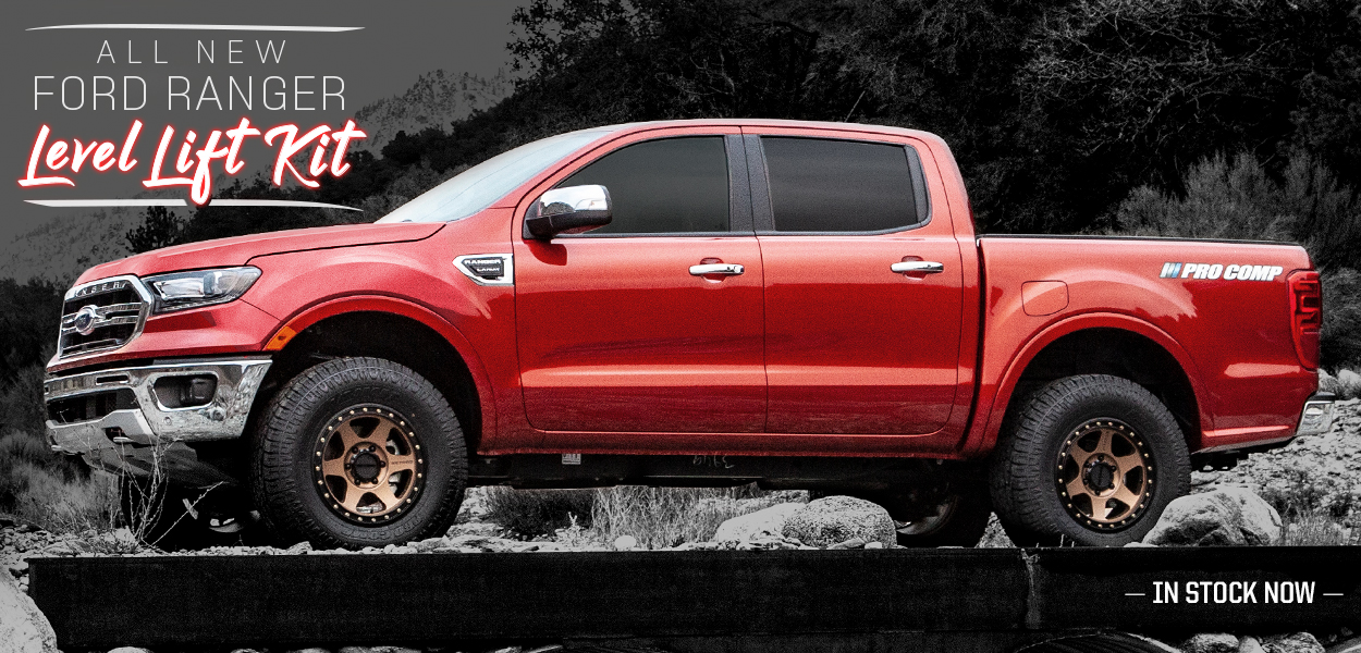 2019 Ford Ranger Level Lift