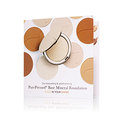Free Foundation Sample Card in your order