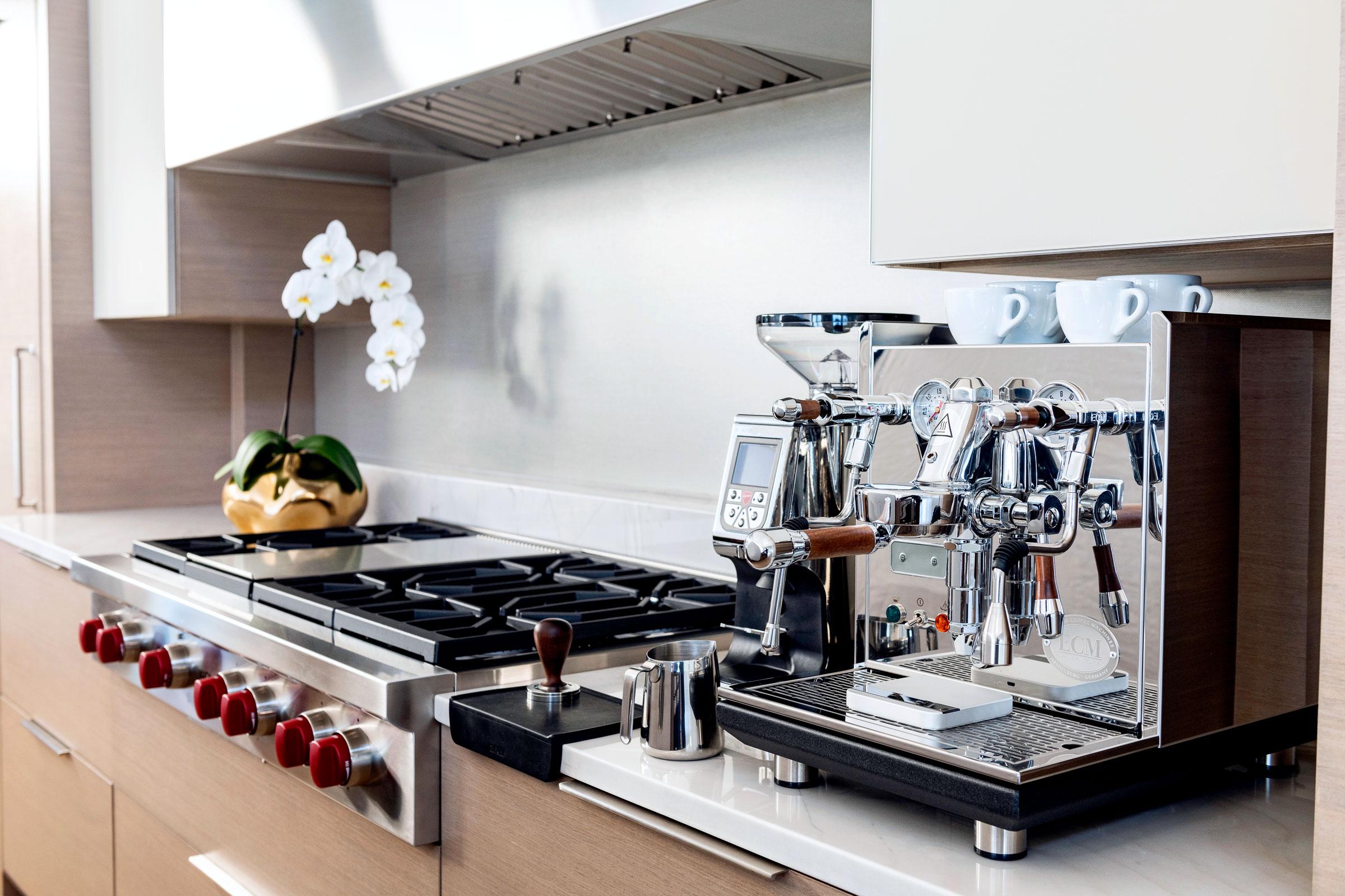 ecm synchronika espresso machine