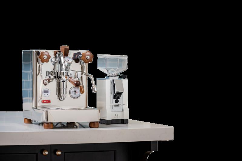 Lelit Bianca Espresso Machine (foreground image)