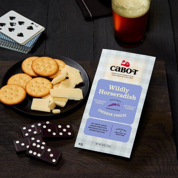 Wildly Horseradish Cheddar Cheese