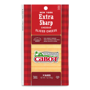 New York Extra Sharp Yellow Sliced Cheddar Cheese