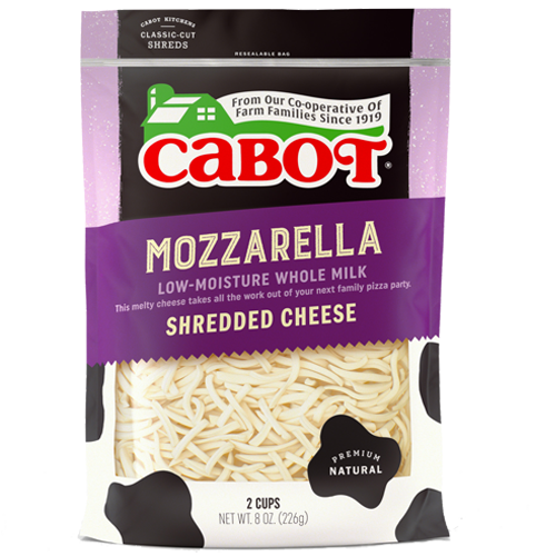 Mozzarella Whole Milk Shredded Cheese