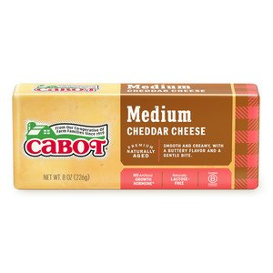 Medium Yellow Cheddar Cheese