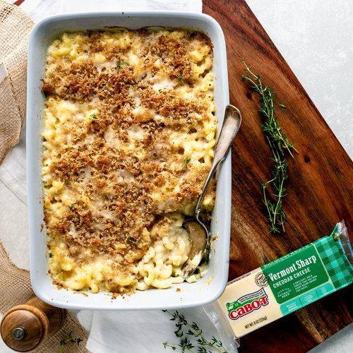 Macaroni & Cabot Cheddar