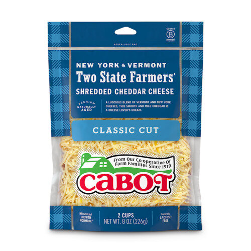 Two State Farmers' Shredded Cheddar Cheese