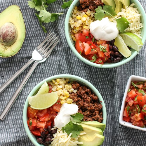 Taco Quinoa Bowl