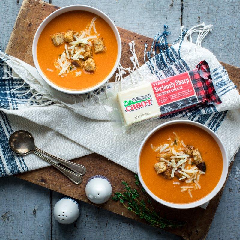 Tomato Cheddar Soup