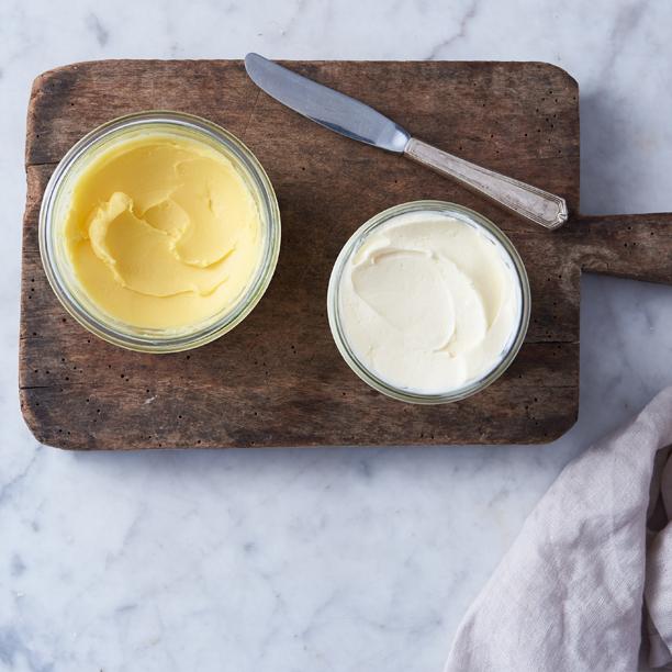 Homemade Mason Jar Butter