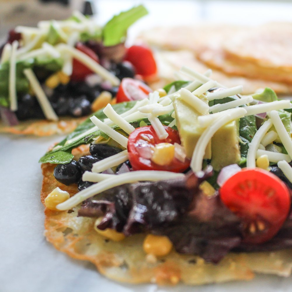 Chopped Salad Cheddar Tostados