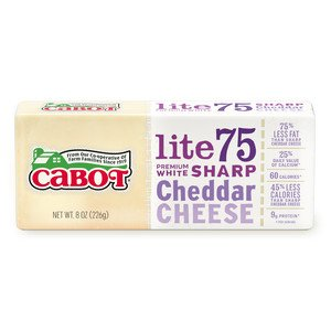 Lite75 Sharp Cheddar Cheese