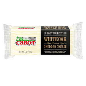 Legacy Collection: White Oak Cheddar Cheese