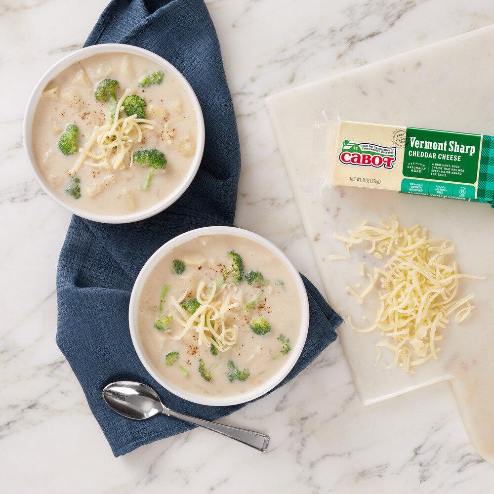 Broccoli Cabot Cheddar Soup