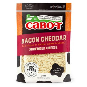 Bacon Cheddar Shredded Cheese