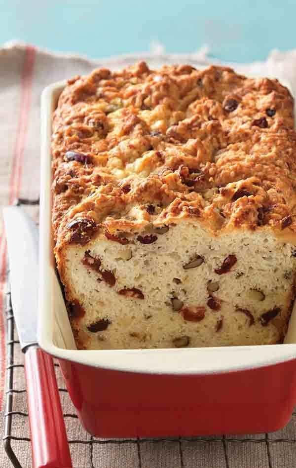Cheddar Cranberry Soda Bread