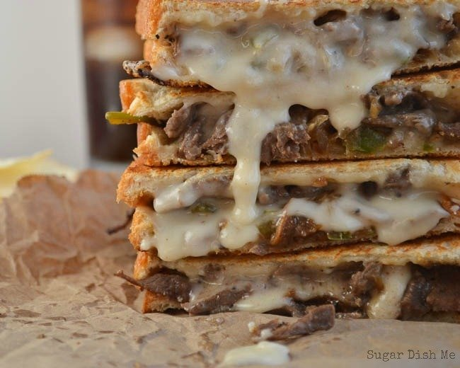 Philly Steak & Grilled Cheese