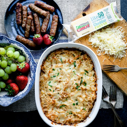 Healthy Hash Brown Casserole