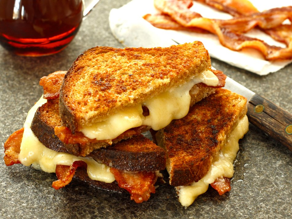 Heaven in Vermont Grilled Cheese