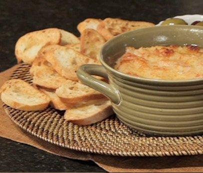 Hot Crab-Cabot Cheddar Spread