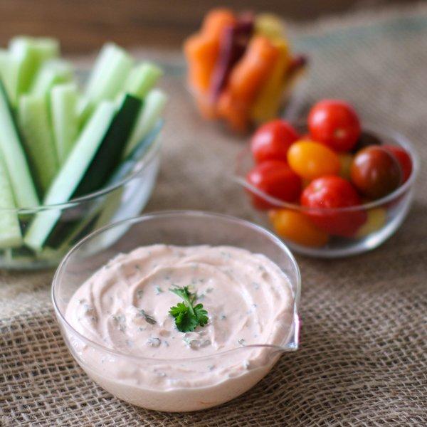 Sriracha & Herb Greek Yogurt Dip