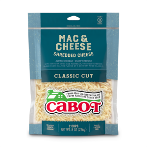 Mac & Cheese Shredded Cheddar Cheese package image
