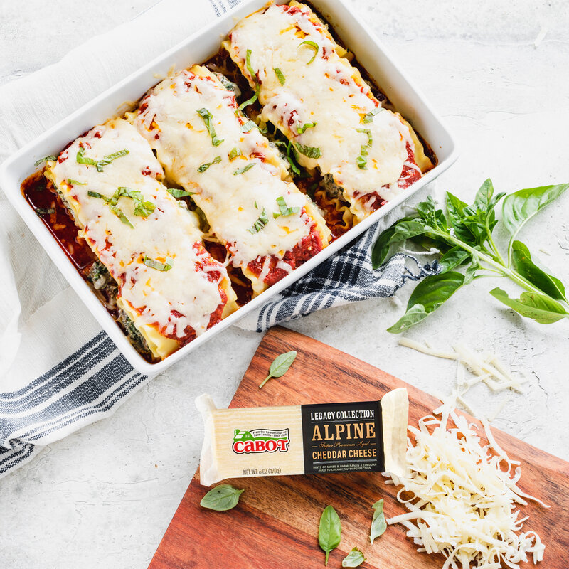 Lasagna Roll Ups