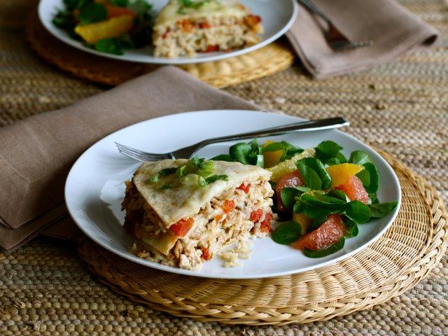 Chicken Tortilla Pie | With Cabot Cheddar | Cabot Creamery