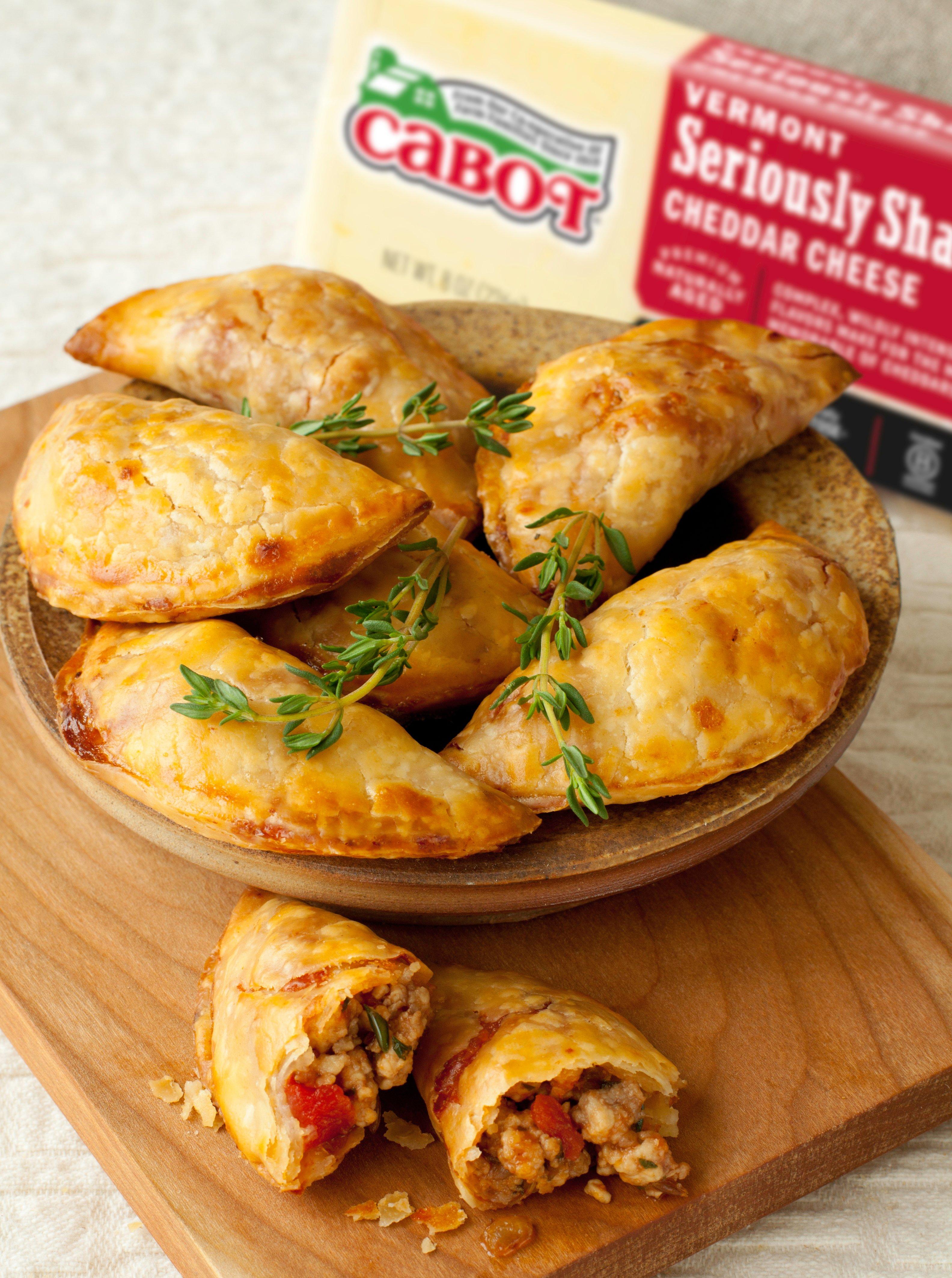 Spicy Pork & Cheddar Empanadas