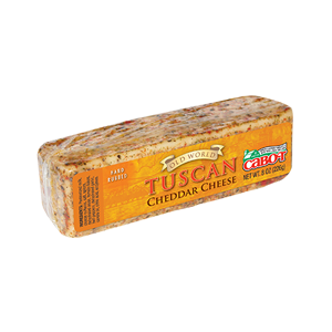 Hand-Rubbed Tuscan Cheddar Cheese