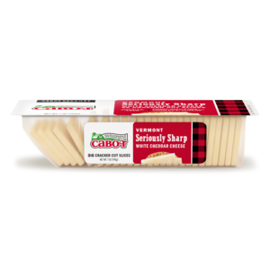 Seriously Sharp Cheddar Cheese Cracker Cuts