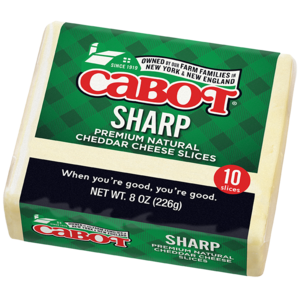 Sharp Cheddar Cheese Slices