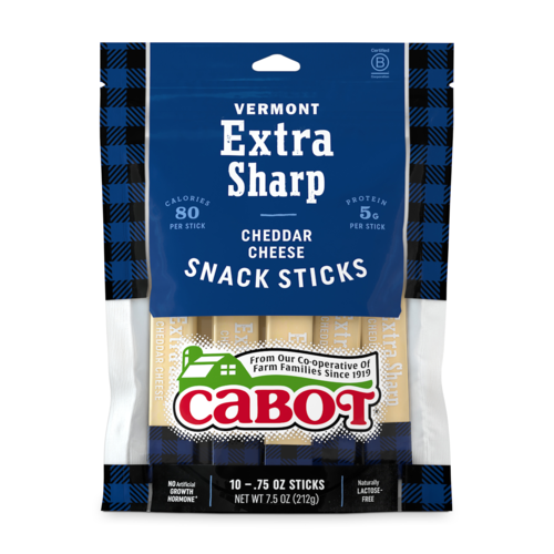 Extra Sharp Cheddar Cheese Snack Sticks