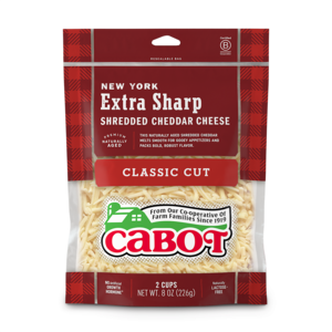 New York Extra Sharp Shredded Cheddar Cheese