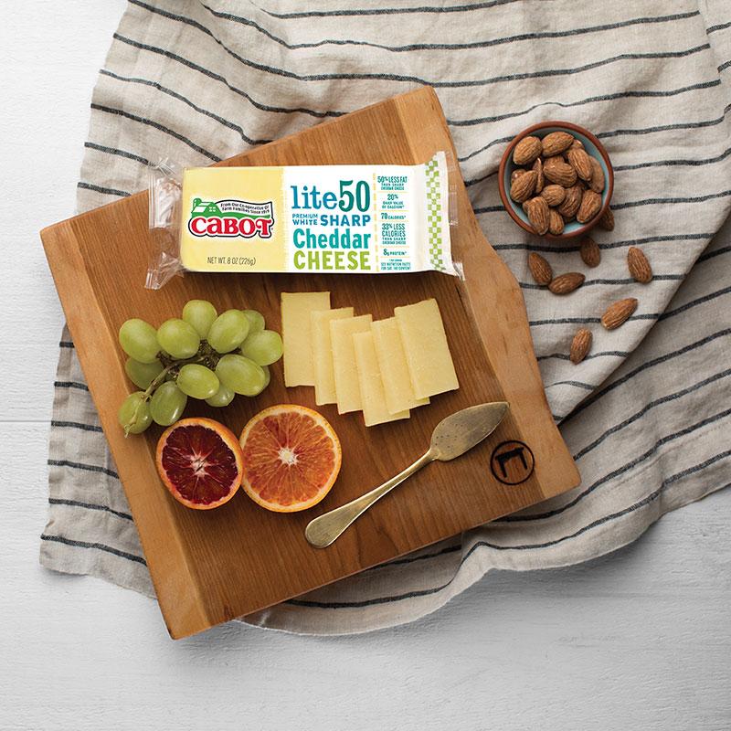 Lite50 Sharp Cheddar Cheese