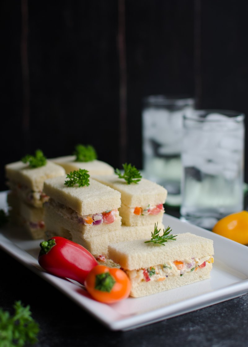 Cheese Salad Tea Sandwiches