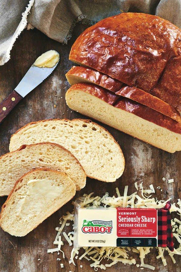 Cabot Cheesy Bread