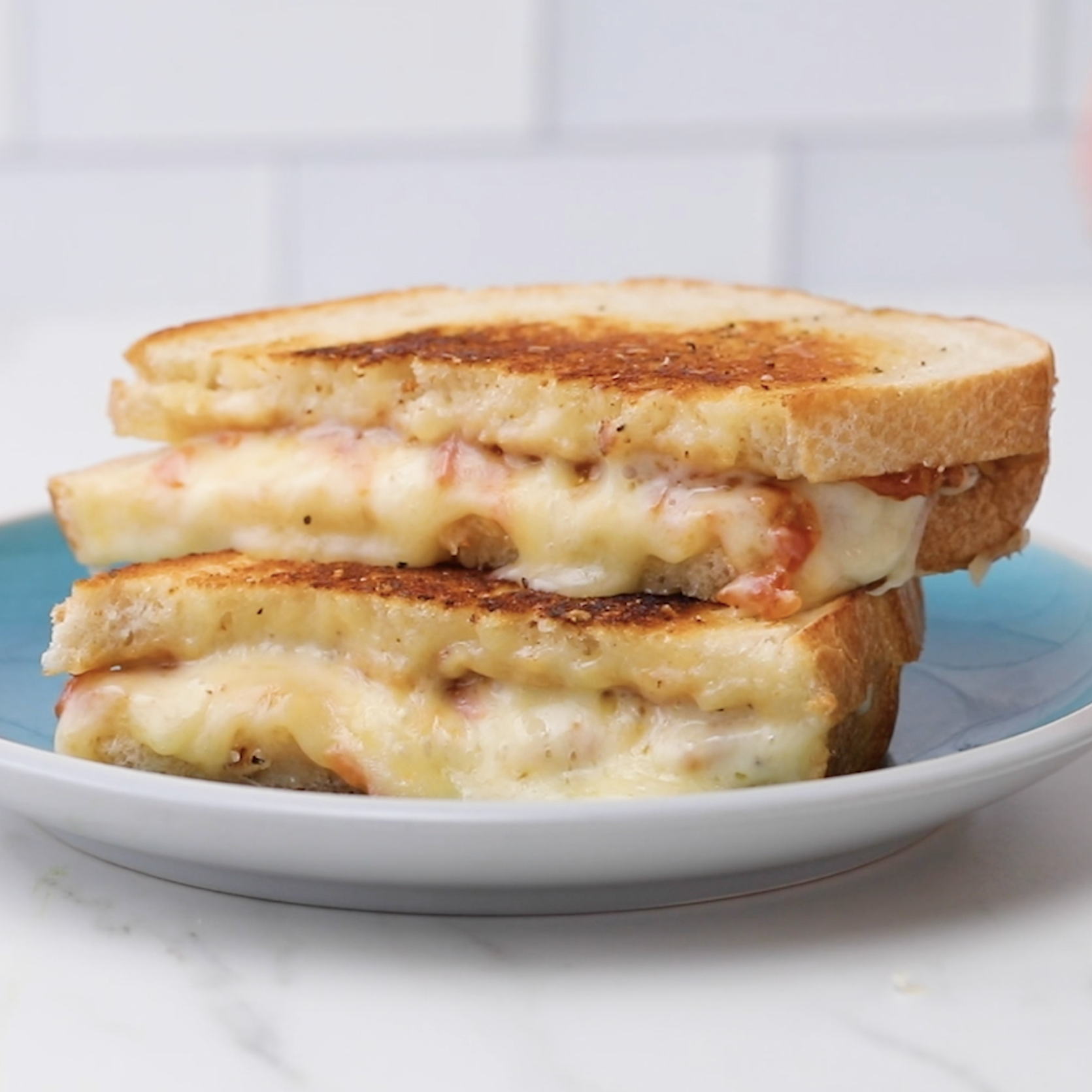 Grilled Cheese with Smoky Tomato Jam