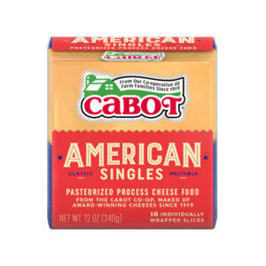 Yellow American Cheese Slices