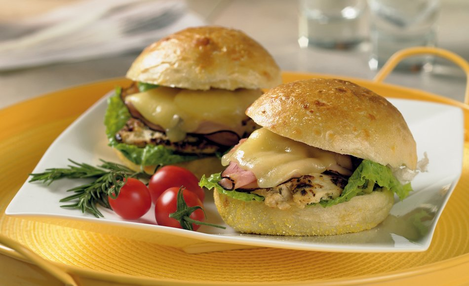 Rosemary Grilled Chicken Sandwiches W Cheddar Amp Black