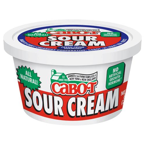 Sour Cream 8 oz