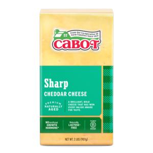 Sharp Yellow Cheddar Cheese 2 lb