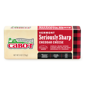 Seriously Sharp Cheddar Cheese package image