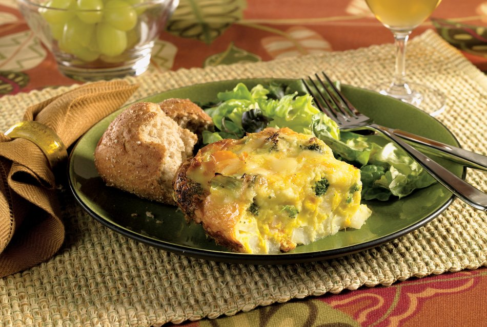 Easy Cabot Cheese Frittata